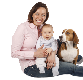 Tips on introducing your dog to a new baby