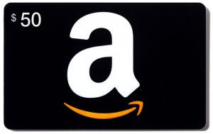 Amazon 50 Dollars Gift Card