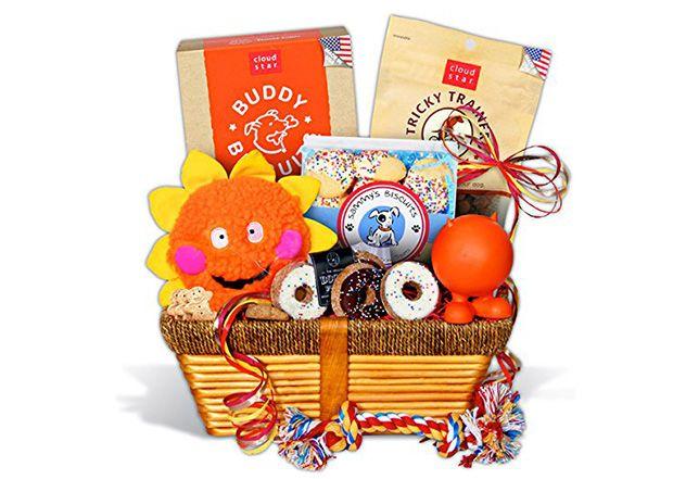 Dog Lover's Gift Basket