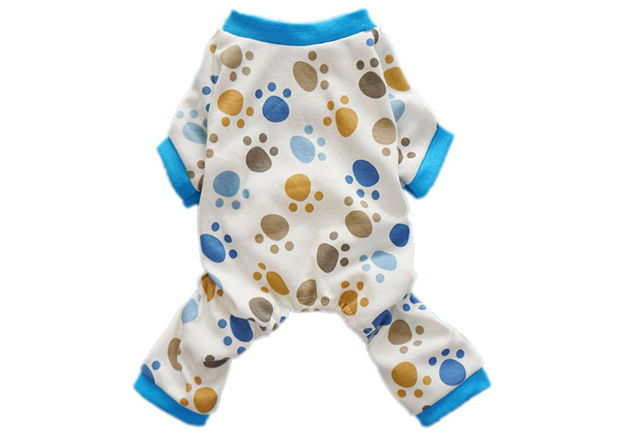 Fitwarm Adorable Paws Dog Pajamas