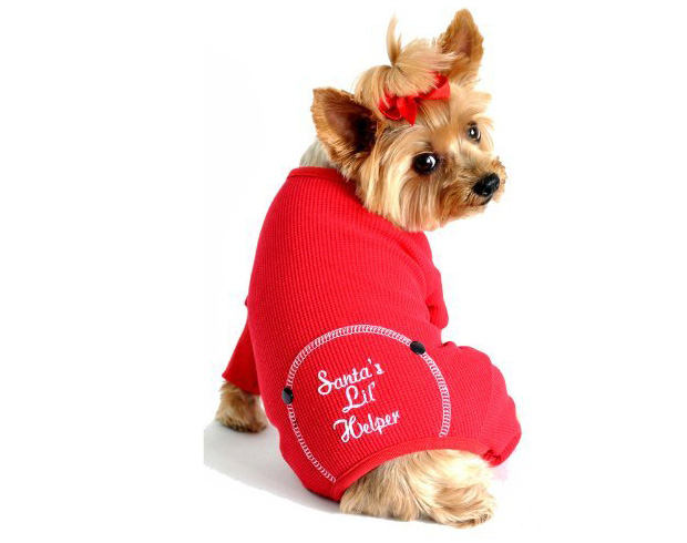 Santa's Little Helper Christmas Pajamas