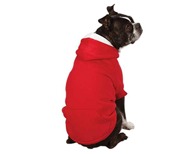 Zack & Zoey Polyester Fleece Lined Dog Hoodie