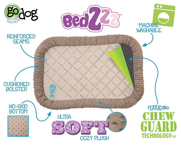 goDog BedZzz with Chew Guard Technology