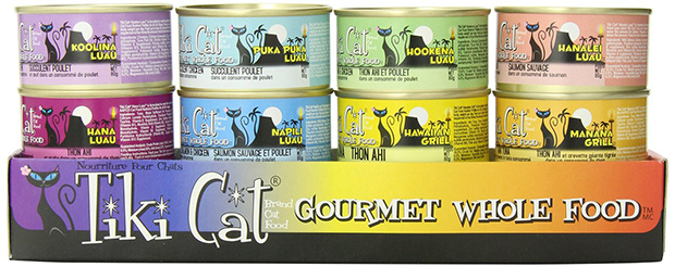 Tiki Cat Gourmet Whole Food Canned Cat Food