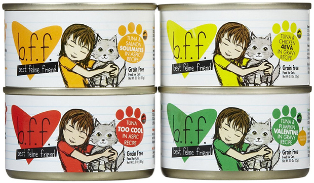 Weruva Best Feline Friend OMG Variety Pack Canned Cat Food