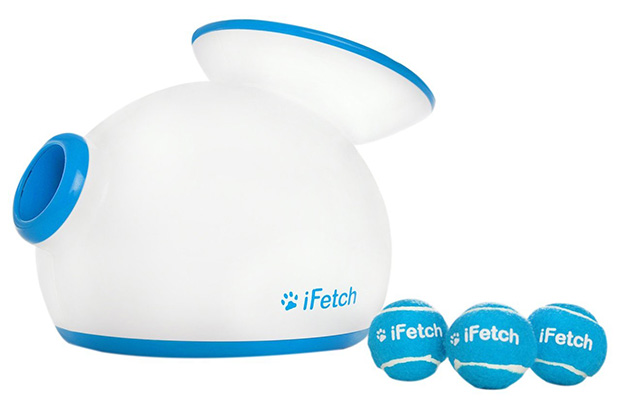 iFetch (Small) Interactive Ball Thrower for Dogs- Launches Mini Tennis Balls
