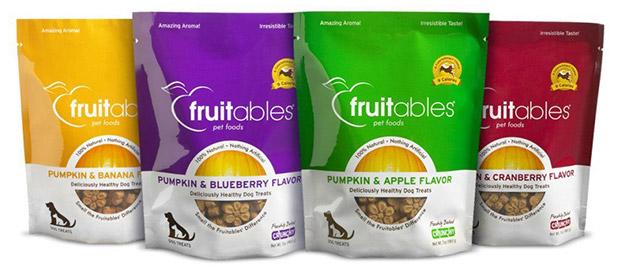 Fruitables Pumpkin & Banana Crunchy Dog Treats