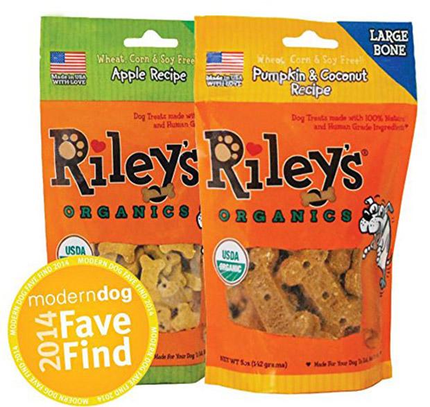 Riley's Organics Peanut Butter & Molasses Organic Dog Treats