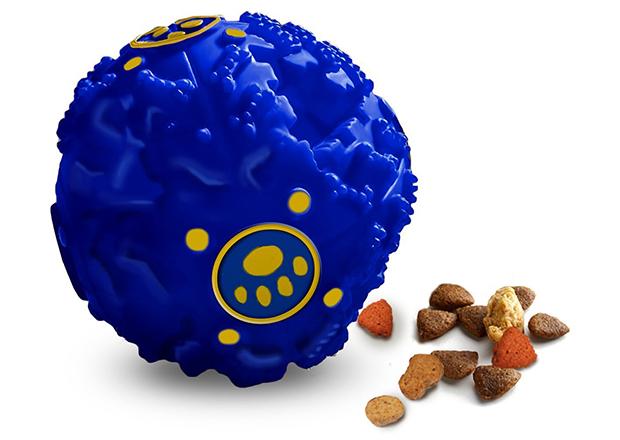 Teeza Ball Treat Dispenser Interactive Dog Toy