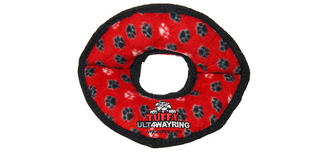 Tuffy Ultimate 4 Way Ring Dog Toy