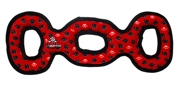 Tuffy Ultimates 3-Way Tug Dog Toy